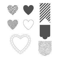 Hearts a flutter 129252L
