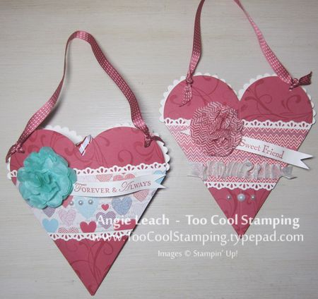 Heart pouch - two cool