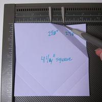 Folded frame - template