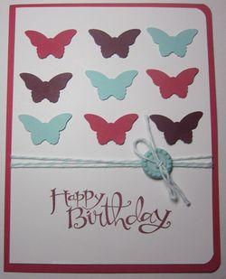 Nine butterflies - maggie patterson