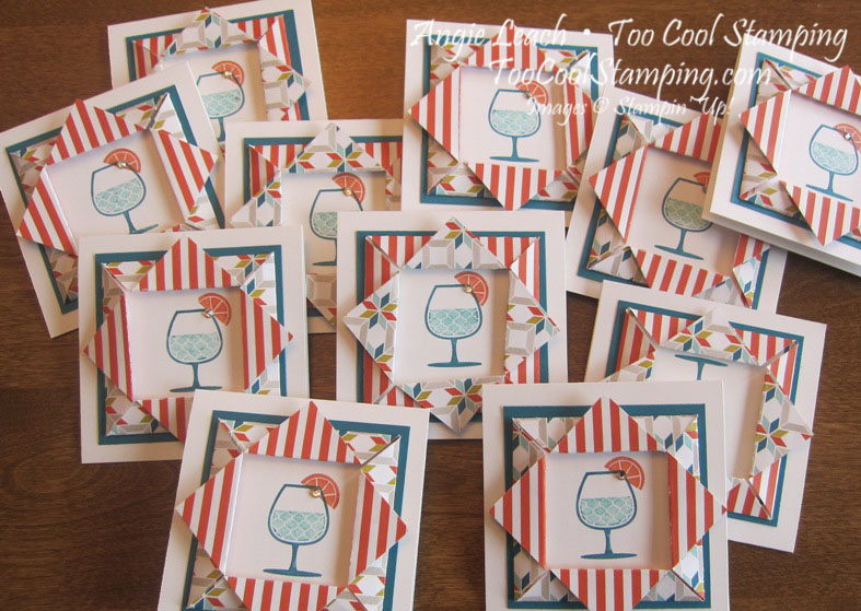 Happy hour folded frames - lots
