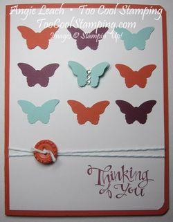 Butterflies 9 - tangerine