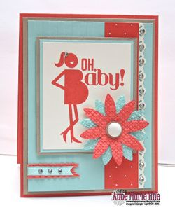 Oh baby stampin anne