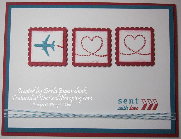 Darla - sent with love card copy