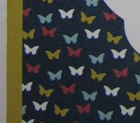 Butterflies stained glass - celebrate minis