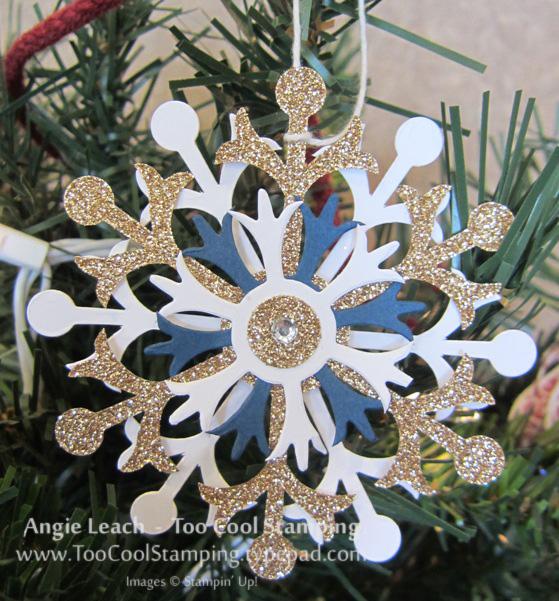 Whitman - snowflake ornament