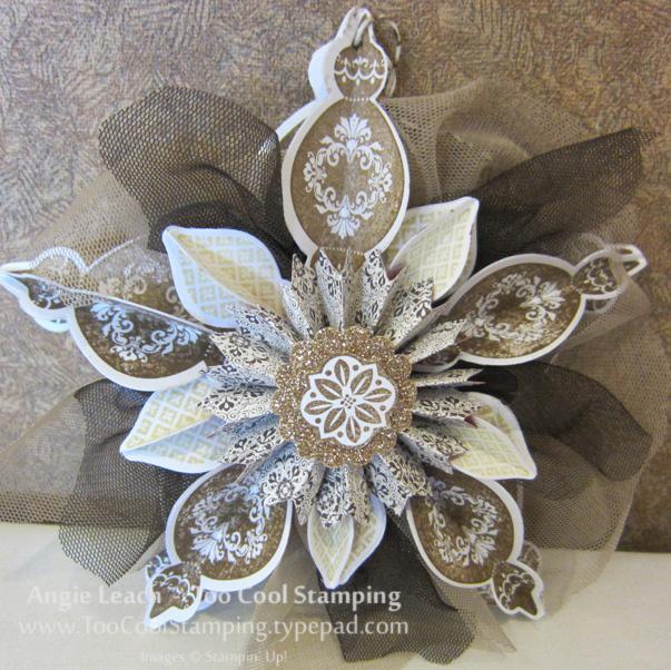Whitman - suede ornament