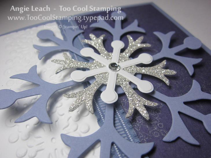 Snowflakes - wisteria 3