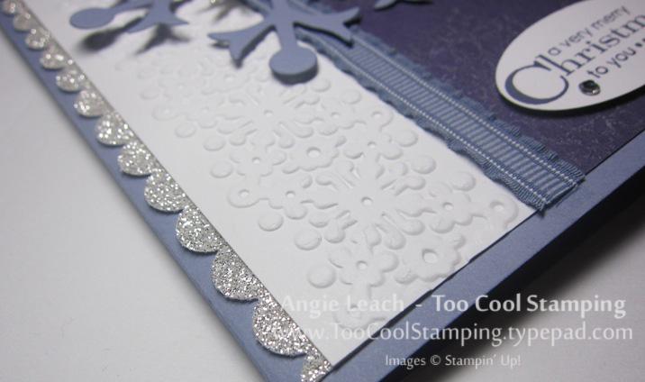 Snowflakes - wisteria 2.5