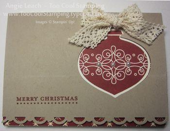 Ornament gc - crochet