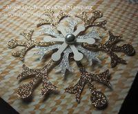 Lg gift bag - snowflake 2