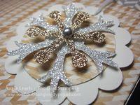 Lg gift bag - snowflake tag