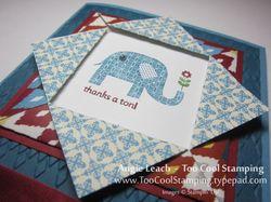 Folded frame - elephant 2
