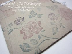 Half envelope - with flap stamping