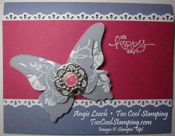 Butterflies vellum - happy5