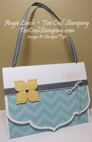 Happy hello purse