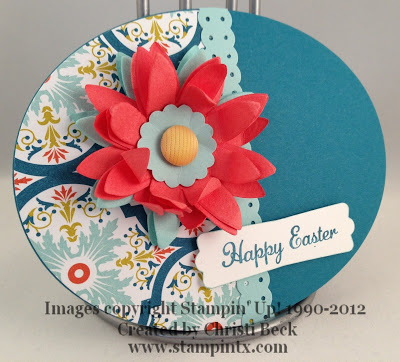 Spring egg card