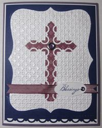 Scallop trim cross