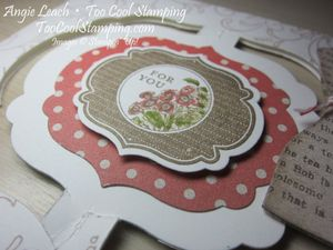 Dress up - floating framelit label