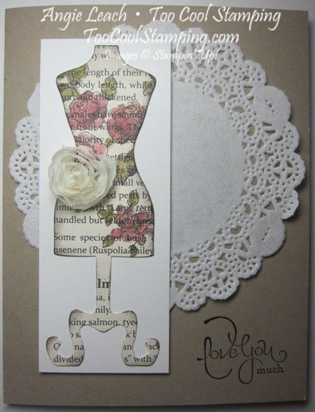 Dress form - love you