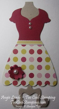 Ss - dress up polka dot flower