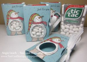 Snow much fun tic tac holder