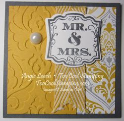 Wedding gift tags - fishtail