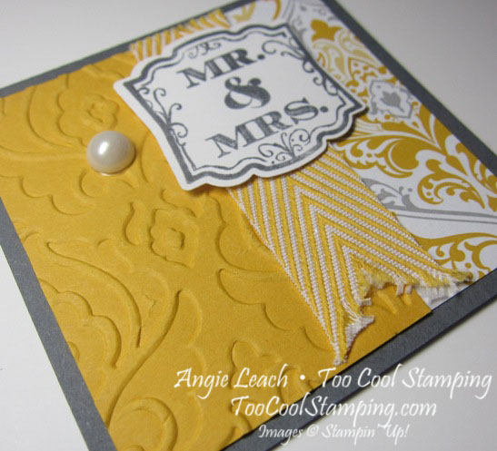 Wedding gift tags - fishtail 2