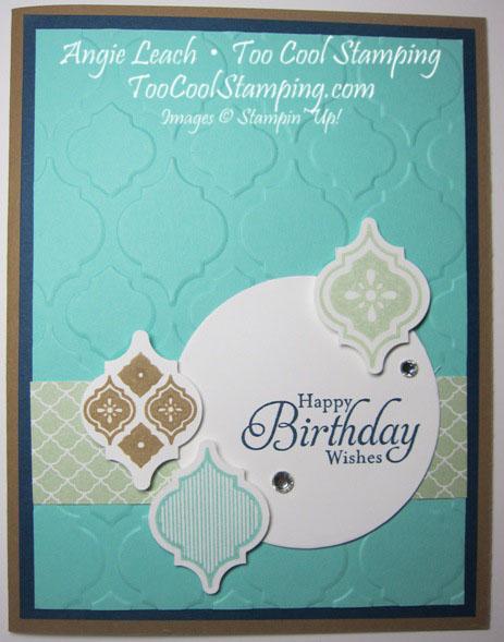 Mosaic jewels - birthday