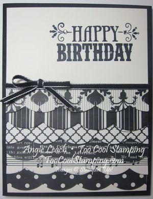 Medley birthday - black