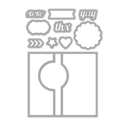 Circle card thinlits 133480L