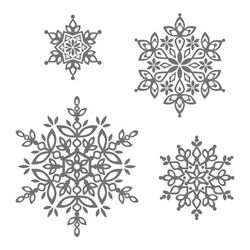 Festive flurry stamps 131781L