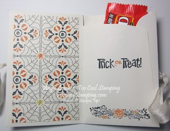 Envelope treat - embossed 2