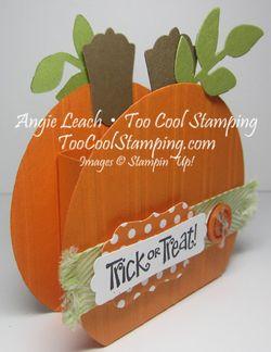 Pumpkin box - trick or treat
