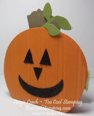 Pumpkin box - jack o lantern