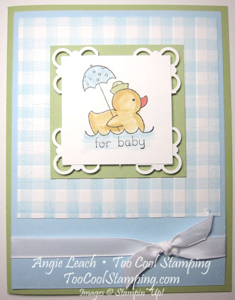 Gingham events - duck