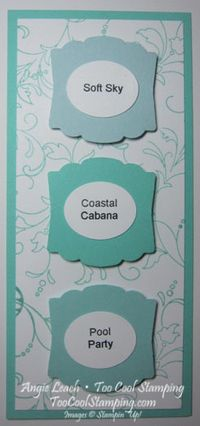 In color swatches - coastal