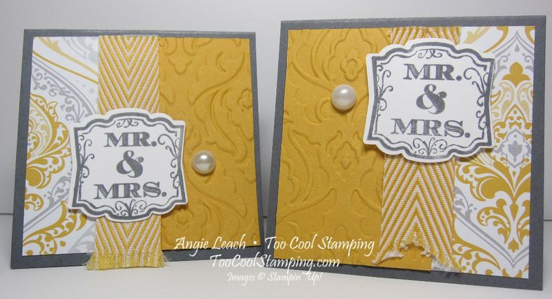Wedding gift tags - two cool