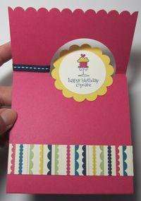 Birthday fancy fold 2 - trudy freas