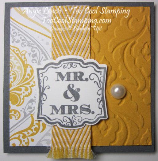 Wedding gift tags - fringe