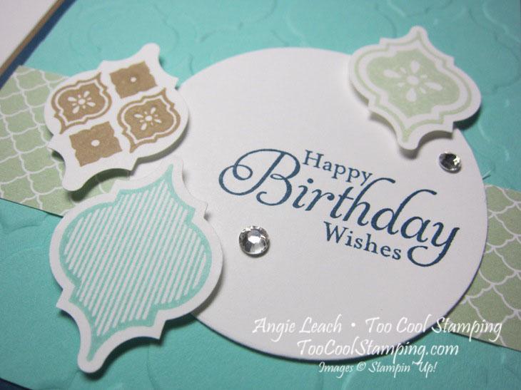 Mosaic jewels - birthday 2