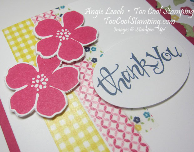 Gingham fold - thank you 3