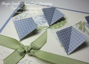 Diamond fold - wisteria 2