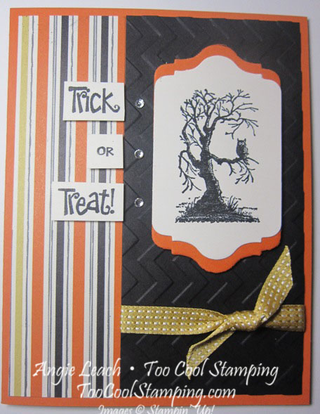 Halloween card - 1