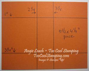 Pumpkin box - template