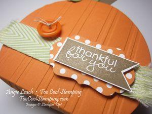 Pumpkin box - thankful