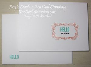 M&t - notecards hello