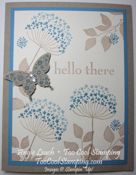 Summer silhouette sparkle - hello
