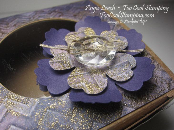 Faux patina - purple box 2