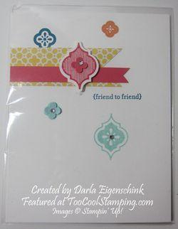 Darla - mosaic friend to friend copy